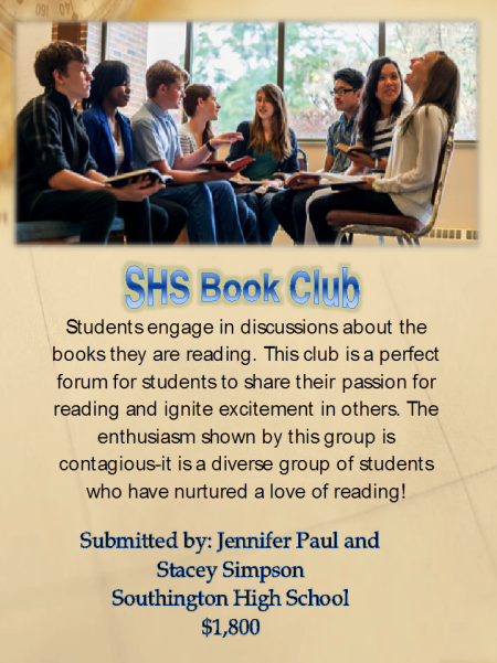 SHS Book Club