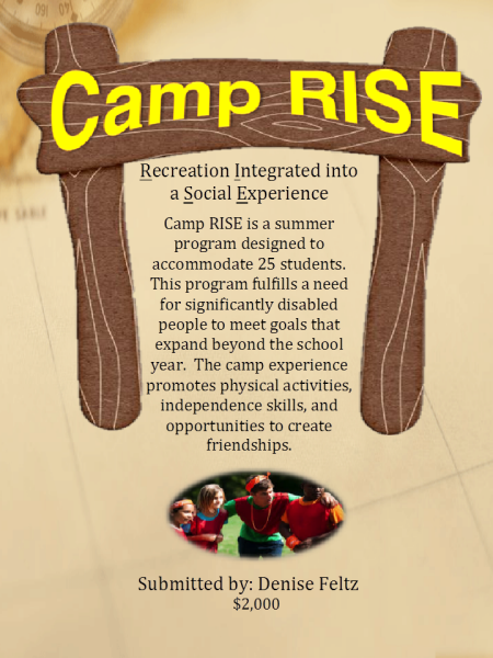 Camp RISE (Recreation Integrated into a Social Experience)