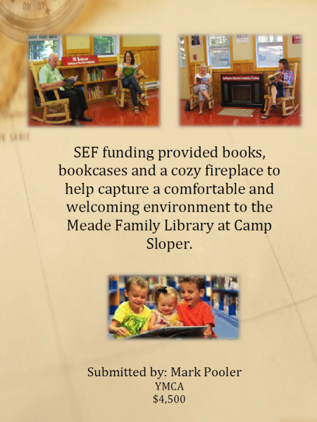 Meade Family Library at Camp Sloper
