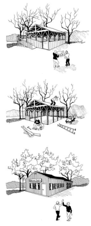 Artist renditions of the Nature Center - Click for a larger view